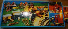 J Playmobil Modellbahn Diesel Lokomotive V 38-15 Nr. 4050 +11 Gleise LGB Nr 1100