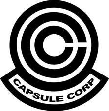 Dragon Ball Z Capsule Corp Logo Vinyl Decal Sticker