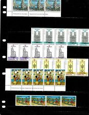 TOKELAU ISLANDS: NICE MINT NH STAMP COLLECTION  DISPLAYED ON 2 SHEETS