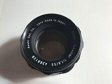Asahi Pentax Super-Takumar 55mm F1.8 Camera Lens – M42 Mount