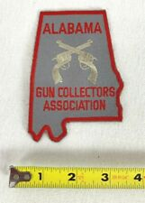 Alabama Gun Collectors Association Patch Pistol Rifle Revolver Rare