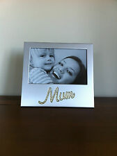 Mum Photo Frame good Mothers Day Gift for Mummy/Mother Silver