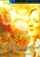 Hillsong OVERWHELMED Live Worship series songbook Christian sheet music