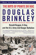 THE BOYS OF POINTE DU HOC: Reagan, D-Day, and Rangers by Brinkley 2006 PB WWII