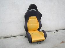 Beifahrersitz Sportsitz Schalensitz Rennsitz UNIVERSAL VW Passat 35i gelb