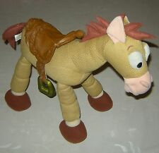 "Rare 1990s Disney 15"" Soft Poseable Bullseye Horse Woody Jessie Toy Story Figure"