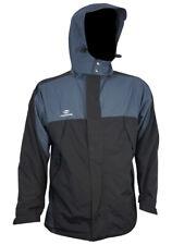 RRP£79.99 Flexifoil Black & Grey Waterproof Mens XXL Jacket with Inner Fleece