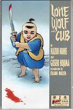 LONE WOLF AND CUB #2 KAZUO KOIKE GOSEKI KOJIMA FRANK MILLER MANGA SAMURAI