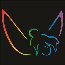 Tinkerbell Large Decal / Sticker - Choose Size & Color - Tink, Peter Pan, Disney