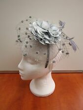 Large Fascinator Hair Clip With Hairband Aliceband Women Ascot Weddings Church