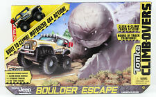 Tonka Climb-Overs Boulder Escape Track Playset With Jeep 4WD Vehicle New