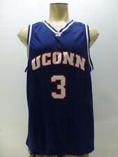 9119b451ffa Foot Locker UC Uconn Connecticut Huskies blue #3 basketball jersey mens sz  XL