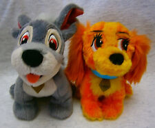 Authentic Original Disney Parks Lady and the Tramp Plush Toy Set New