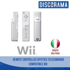 WII REMOTE CONTROLLER JOYSTICK TELECOMANDO COMPATIBILE NINTENDO