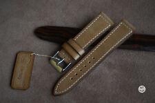 20 mm Cinturino artigianale Handmade In Italy Vintage Leather Watch Strap Band