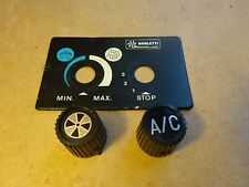 Ferrari 308 AC control knobs and face plate