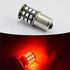 2x led 1156 bulb RED BA15S P21W 3030 Yellow Reverse Backup Tail light AC 12V-24V