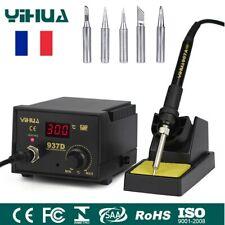 Fer à Souder Station de Soudage Électrique numérique SMD LED 200℃-480℃ 45W 937D