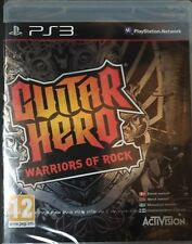 Guitar Hero 6 Warriors of Rock PS3 Brand New in Sealed Box Game Only REGION: PAL