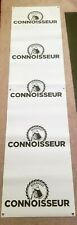 "BEERFEST BEER CONNOISSEUR BANNER SIGN EXCELLENT SHAPE 94"" X 24"" #2"