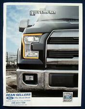Prospekt brochure 2015 Ford F-150 Pickup (USA)