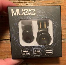 Mini Bluetooth Earbud Wireless Small Invisible Headphone Sport Music Waterproof