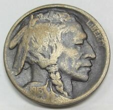 1913-D Buffalo Nickel - Indian Head *Type 1 Old US 5 Cents