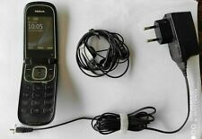 Used Nokia 3710 Fold Black Unlocked Cellphone in Great Condition FREE SHIPPING