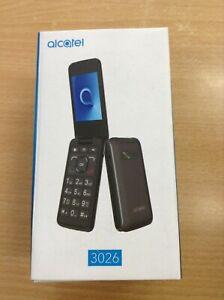Flip Phone Senior Alcatel 3026G Big buttons Unlocked #3956B