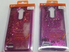 For ZTE Max XL, Blade Max 3, Zmax Pro 2, Liquid Glitter Clear Protective Case