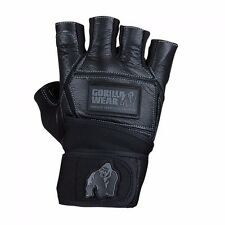 Gorilla Wear Hardcore Wrist Wraps Gloves Black Trainingshandschuhe