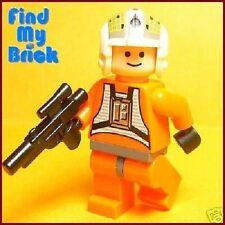 SW108 Lego Star Wars Y-wing Fighter Rebel Pilot Dutch Vander Minifigure 7658 NEW