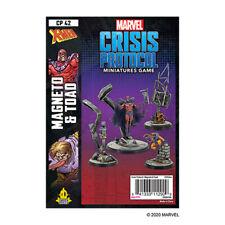 Marvel Crisis Protocol Magneto & Toad