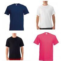 Fruit of the Loom Big Men's Crew Cotton Short Sleeve Tee Shirt 2XL 3XL 4XL New
