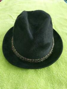 1960'S MEN'S VINTAGE EXCELLO STEPHEN STETSON PORKPIE HAT--7 1/8-USA