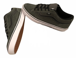 Vans (Bearcat) Suede Skate Shoes Charcoal Grey Men's Sz 10.5 New Discontinued 🔥