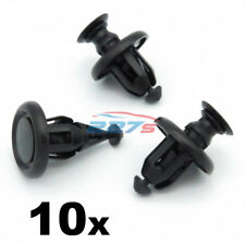 10x 10 mm Motore Undertray/Paraurti Clip per la Toyota YARIS - 51454-48010