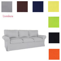 Custom Made Cover Fits IKEA EKTORP Sofa, ektorp 3 Seat sofa cover, ektorp cover