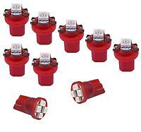 Rote LED Tacho Lampe Beleuchtung Mercedes ML C KLasse W163 W202 UMBAU SET rot