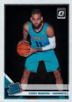 Cody Martin RC 2019-20 Donruss Optic Rated Rookie Card #181 Charlotte Hornets