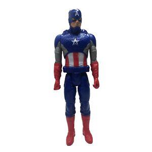 Captain America 12 Inch Action Figure Marvel Avengers Titan Hero Series G 2014