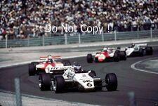 Keke Rosberg Williams FW08 Winner Swiss Grand Prix 1982 Photograph 2