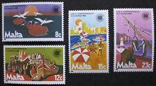 Commonwealth day stamps, 1983, Malta, SG ref: 708-711, 4 stamp set, MNH