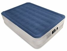 "NEW Queen Air Mattress SoundAsleep Holds 500# 78""Lx58""Wx19""H FAST Pump 5✩ Review"