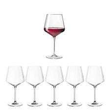 Leonardo 069555 6er Set Puccini Burgunderglas 730ml Teqton Rotweinglas Weinglas