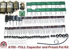 Revox A700 tape recorder capacitor and preset pot upgrade kit