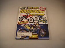 MX ACTION MOTOCROSS ACTION MAGAZINE AUGUST 2000 VOLUME 28 NUMBER 8