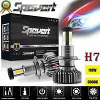 Pair 110W H7 LED Auto Scheinwerfer Glühbirne Birnen Ersetzen Lampen DRL 30000LM
