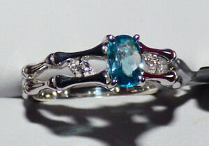 Ratanakiri Blue Zircon Ring - Sale!