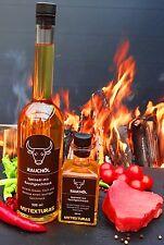 Rauchöl, Liquide Smoke Oil für BBQ oder Pfanne 500ml, Grillöl Mytexturas